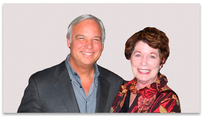 "Sue with one of her mentors, Jack Canfield, legendary Speaker & Trainer of 40+ years & Co-Creator of the #1 Best-selling Book Series, ""Chicken Soup for the Soul"""
