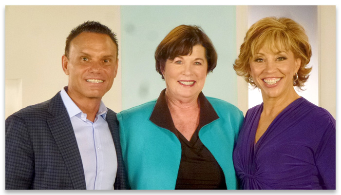 Kevin Harrington, Sue and Forbes Riley