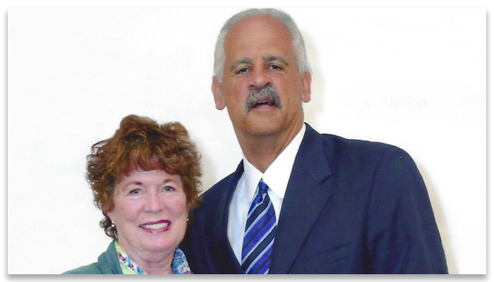 Sue and and Stedman Graham